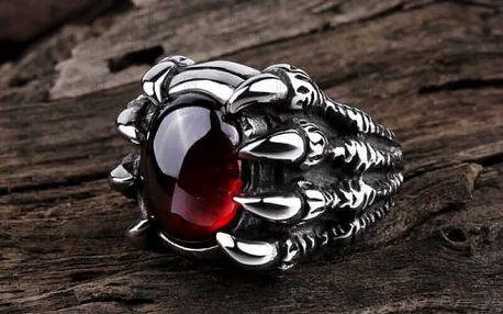Pánský dračí prsten - 3 barvy