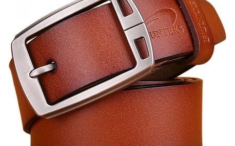 Široký pánský pásek s klasickou přezkou - více variant