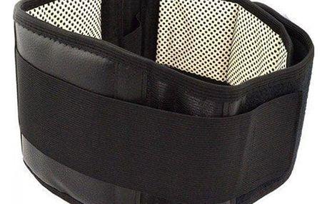 Bederní hřející pás s turmalínem proti bolesti zad
