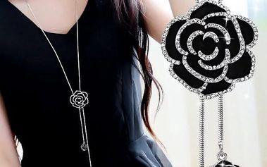 Dlouhý náhrdelník s přívěskem