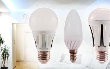 Úsporné LED žárovky s dlouhou životností a pětiletou zárukou