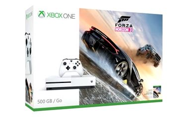 Herní konzole Microsoft 500 GB + Forza Horizon 3 (ZQ9-00118) bílá