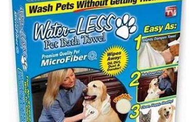 Kvalitní ručníky na psy Water LESS 2 ks