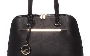 Dámská elegantní černá kabelka - David Jones Jeana černá