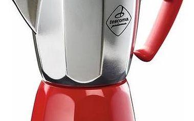 Kávovar Tescoma Paloma Colore, 6 šálků červená barva