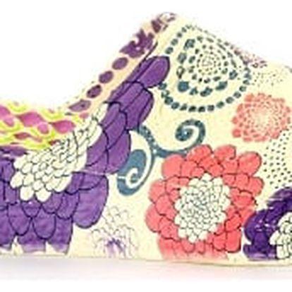 Letní dámské pantofle FLOWER 2
