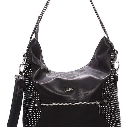 Elegantní dámská kabelka černá - Carine Helaine černá