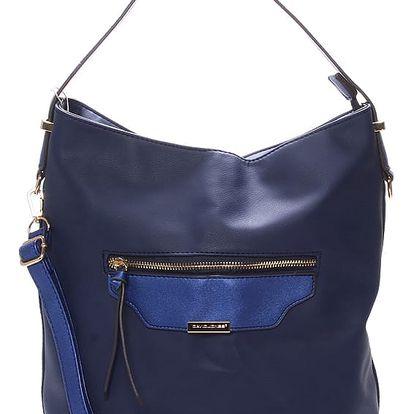Dámská kabelka přes rameno modrá - David Jones Belle modrá