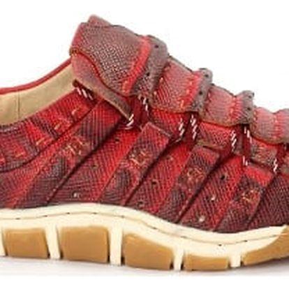 Dámská jarní obuv DIERMAN červená