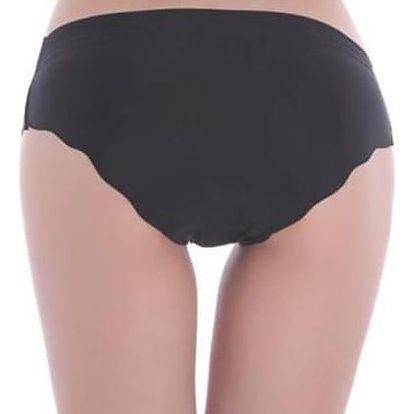 Dámské bezešvé kalhotky - černé - dodání do 2 dnů