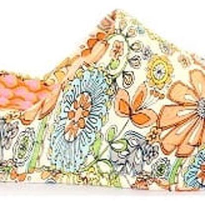 Letní dámské pantofle FLOWER 1