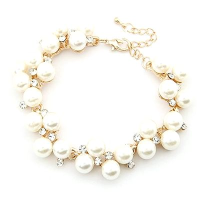 Kouzelný korálkový náramek v perlovém provedení - dodání do 2 dnů