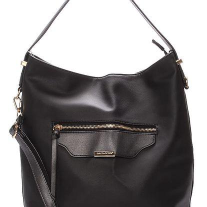 Dámská kabelka přes rameno černá - David Jones Belle černá