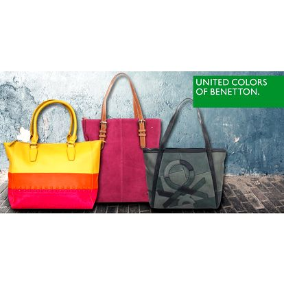 Barevné variace kabelek Benetton