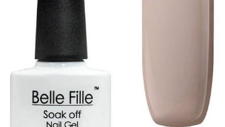 Nude UV gely na umělé nehty