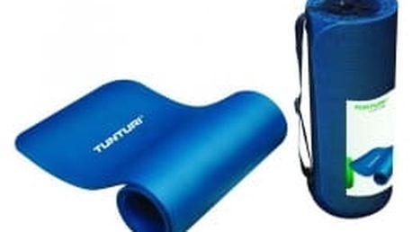 TUNTURI Aerobic modrá pěnová podložka se síťkou