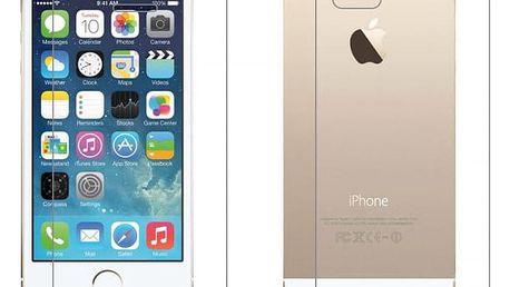 Zadní a přední ochranné sklo pro iPhone 5/5S/SE