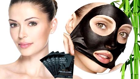 Korejská černá maska Pilaten k odstranění černých teček 10 ks