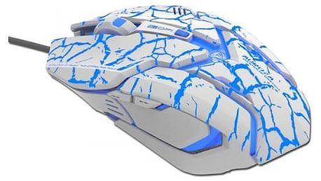 E-Blue myš Auroza (bílá)