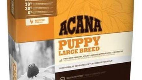 Granule Acana Dog Puppy Large Breed Heritage 11,4 kg + Antiparazitní obojek za zvýhodněnou cenu + Doprava zdarma