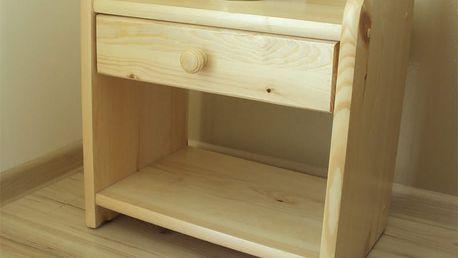 Noční stolek Ilona borovice