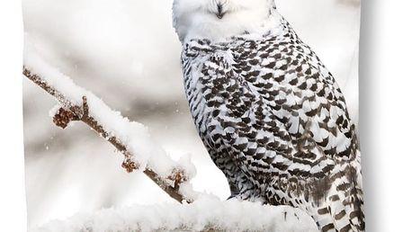 Povlak na polštář Muller Textiel Snowy Owl, 50x50cm