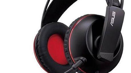 Headset Asus Cerberus Gaming iCafe (90YH0061-B1UC00) černý + Doprava zdarma