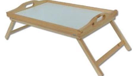 Dřevěný podnos do postele GD165