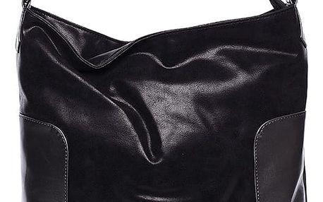 Elegantní velká dámská kabelka černá - Carine Julie černá