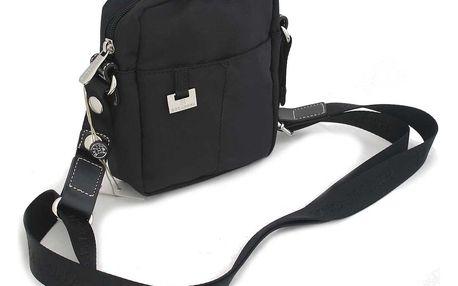 Dámská kabelka černá crossbody - Hexagona 326963 černá