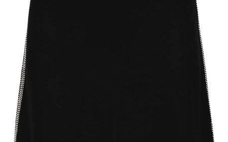 Černá krátká sukně Desigual Florida