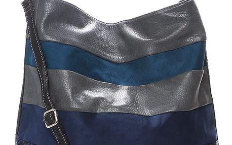 Dámská kabelka přes rameno modrá - David Jones Charlisa modrá