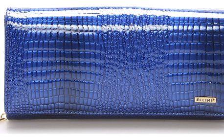 Dámská kožená modrá peněženka - ELLINI Ellayne modrá