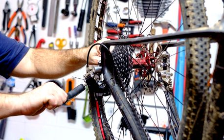 Profesionální servis pro vaše jízdní kolo