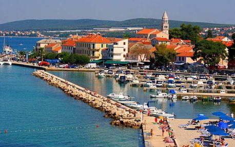 Letní Chorvatsko - Biograd v TOP sezóně: 8 dní pro 1 osobu v mobilhome + možnost busu