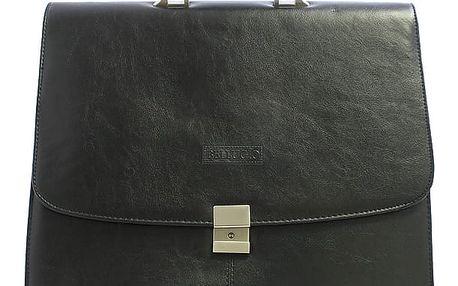 Černá pánská aktovka Bellugio 0429 černá