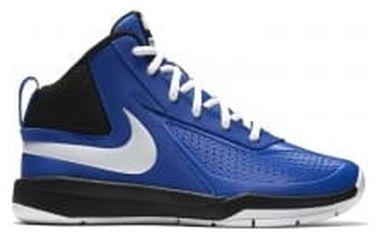 Dětské basketbalové boty Nike TEAM HUSTLE D 7 (GS) 39 GAME ROYAL/WHITE-BLACK