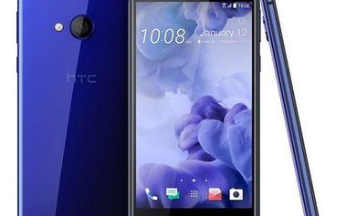 Mobilní telefon HTC U PLAY (99HALY018-00) modrý