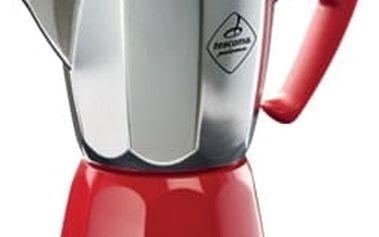 Kávovar PALOMA Colore, 6 šálků, červená