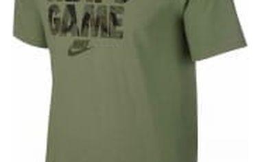 Pánské tričko Nike M NSW TEE PRNT PK GAME L PALM GREEN/PALM GREEN/LEGION G