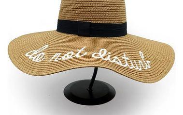 Stylový slaměný letní klobouk - 6 barev