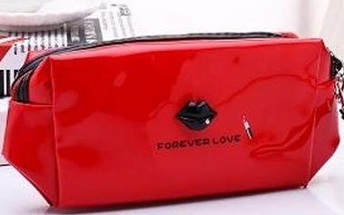 Kosmetické pouzdro Forever love, univerzální pouzdro na všechny Vaše poklady.