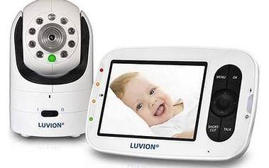 Dětská elektronická chůva Luvion GRAND ELITE 2 bílá + Doprava zdarma