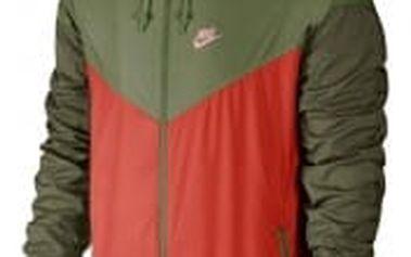 Pánská bunda Nike M NSW WR JKT M MAX ORANGE/PALM GREEN/BRIGHT M