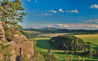 Léto v chatkách poblíž Adršpachu vč. polopenze