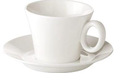Šálek na cappuccino ALLEGRO, s podšálkem