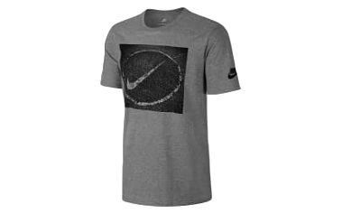 Pánské tričko Nike M NSW TEE ASPHALT PHOTO L DK GREY HEATHER