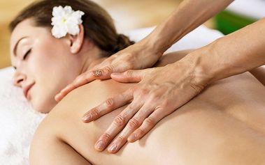 60minutová havajská masáž Lomi Lomi