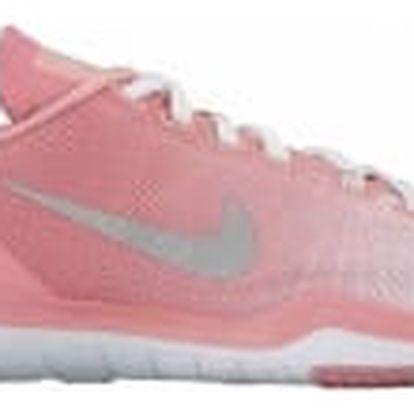 Dámské fitness boty Nike W FLEX SUPREME TR 5 PRM 39 WHITE/MATTE SILVER-BRIGHT MELO