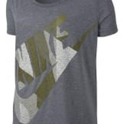 Dámské tričko Nike W NSW TEE SS SKYSCRAPER M CARBON HEATHER